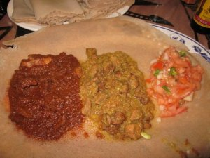 ethiopian Injera recipe traditional food from Ethiopia