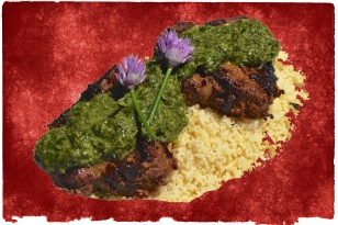 moroccan lamb chermoula rice recipe