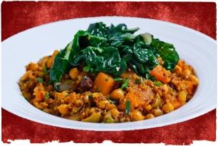 moroccan vegetarian chickpea tajine recipe